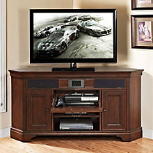 Belcourt Corner TV Stand with Built-In Surround Sound, ERE-01209