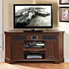 Belcourt Corner TV Stand with Built-In Surround Sound, TKE-10675