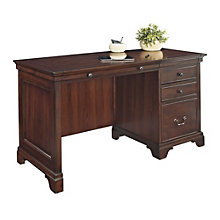 Belcourt Traditional Single Pedestal Desk, ERE-01211