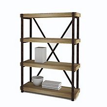 "Emery Four Shelf Bookcase - 44""H, 8801521"