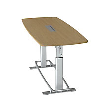 """Focal Upright Confluence Height Adjustable Conference Table 78""""W x 34""""D, 8807798"""