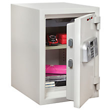 One Hour Fireproof .97 Cubic Ft Safe With Shelf, 8802049