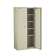 "Fireproof Five Shelf Storage Cabinet - 72""H, FIR-CF7236-D"