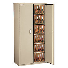 Fireproof End-Tab File Cabinet - Six Shelf, FIR-CF7236-MD