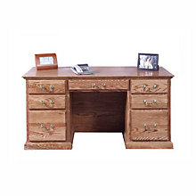 "Traditional Executive Desk - 72""W, FOD-1049-T"
