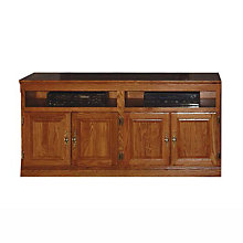 "Traditional TV Console - 60""W, FOD-4515-T"