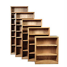 "Contemporary Three Shelf Bookcase - 36""H, FOD-6121-B"