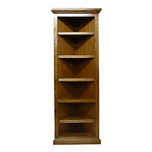 "Traditional Corner Bookcase - 72""H, FOD-6704-T"