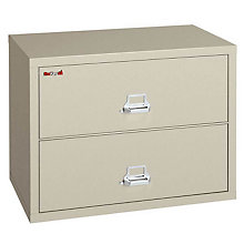 "Fireproof Two Drawer Lateral File - 31""W, FRK-2-3122-C"