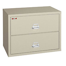 "Fireproof Two Drawer Lateral File - 44""W, FRK-2-4422-C"