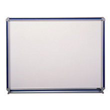 "Magnetic Porcelain Markerboard with Insert - 48"" x 36"", GHE-DFM-34"