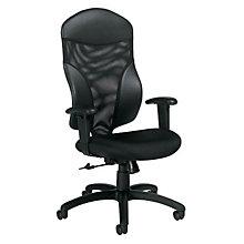 High Back Mesh and Fabric Ergonomic Task Chair, GLO-1950-4