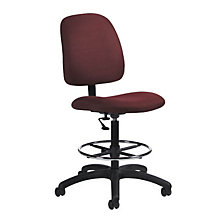 Fabric Armless Drafting Stool, GLO-2236-6