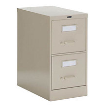 Two Drawer Letter Size Vertical File, GLO-25-200