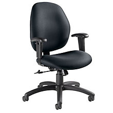 Low Back Fabric Ergonomic Task Chair, GLO-3144