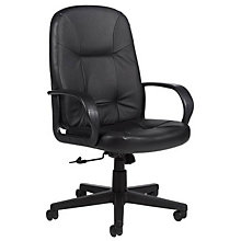 Arno High Back Leather Executive Chair, GLO-4003