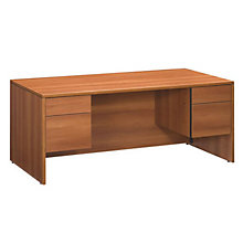 Double Pedestal Executive Desk, GLO-A3672DP