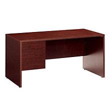 Genoa Left Single Pedestal Desk, GLO-G3060SPL