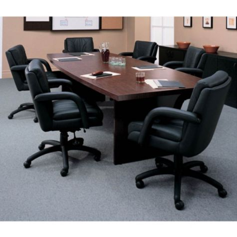 Boat shape conference table 120 w for 120 conference table