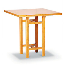 Tulip Solid Bamboo Counter Height Table, 8806921