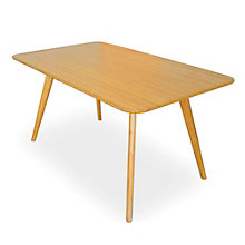 "Currant Solid Bamboo Table Desk - 60""W, 8806941"