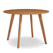 Currant Solid Bamboo Round Conference Table, 8806943