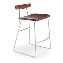 City Lights Solid Bamboo Armless Counter Height Stool, 8806958