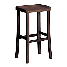 Tulip Solid Bamboo Armless Counter Height Stool, 8806924
