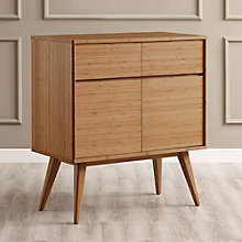 Laurel Solid Bamboo Sideboard Cabinet, 8806973