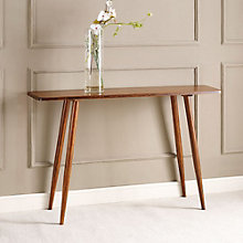 Ceres Solid Bamboo Console Table, 8806977