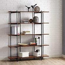 "Studio Line Four Shelf Solid Bamboo Bookcase - 66""H, 8806985"