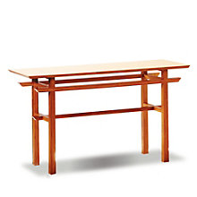Lotus Solid Bamboo Console Table, 8806982
