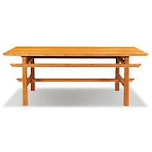 Lotus Solid Bamboo Coffee Table, 8806983