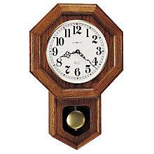 Katherine Oak Wall Clock, HOM-620-112