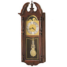 Rowland Cherry Wall Clock, HOM-620-182