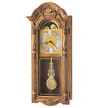 Rothwell Golden Oak Wall Clock, HOM-620-184