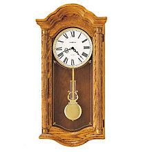 Lambourn II Oak Wall Clock, HOM-620-222
