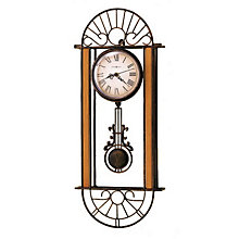 Devahn Wrought Iron Wall Clock, HOM-625-241
