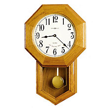 Elliott Quartz Wood Wall Clock, HOM-625-242