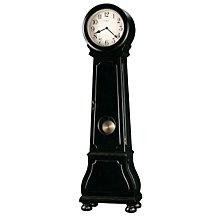 Distressed Black Grandfather Clock, HOM-615-005