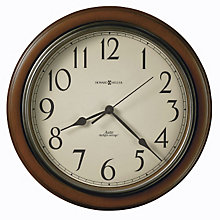 Talon Cherry Finish Wall Clock, HOM-625-417