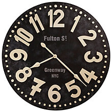 "Oversized Gallery 36""Dia Wall Clock, 8801551"