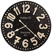 "Oversized Gallery 36""Dia Wall Clock, 8801551"