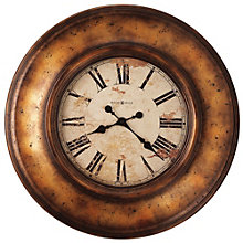"Aged Copper 29.5""Dia Wall Clock, 8801557"