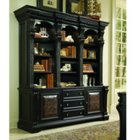 Twelve Shelf Bookcase and Storage Credenza, HOO-10955