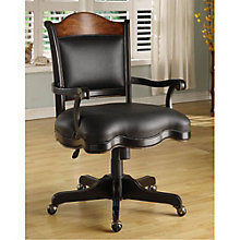 Preston Ridge Traditional Task Chair in Leather, HOO-10887