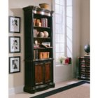 "Preston Ridge Six Shelf Bookcase with Doors - 84.5""H, HOO-10888"