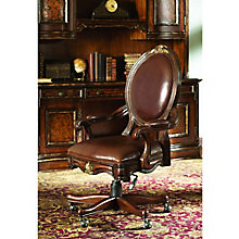 Beladora Traditional Executive Chair in Genuine Leather, HOO-11082