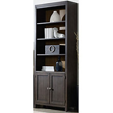"South Park Six Shelf Lower Door Bookcase - 84""H, HOO-11092"
