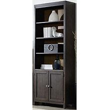 "South Park Six Shelf Lower Door Bookcase - 84""H, HOO-11092"